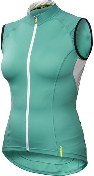 Mavic Ksyrium Elite Mouwloze jersey Dames turquoise